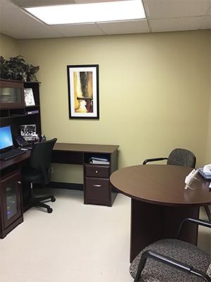 Audiology Waukesha WI Office Room